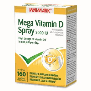 Mega Vitamin D 2000 IU SPRAY